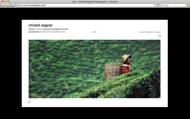 Christof Wagner website