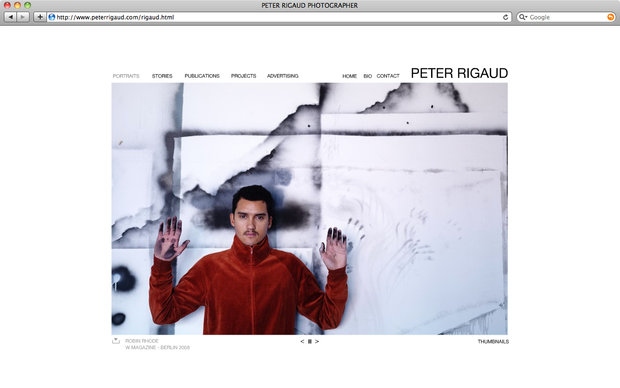 Peter Rigaud website