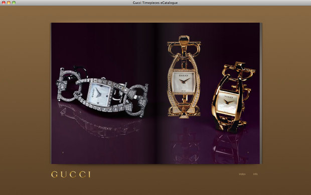 Gucci e-catalogue, Chiodo