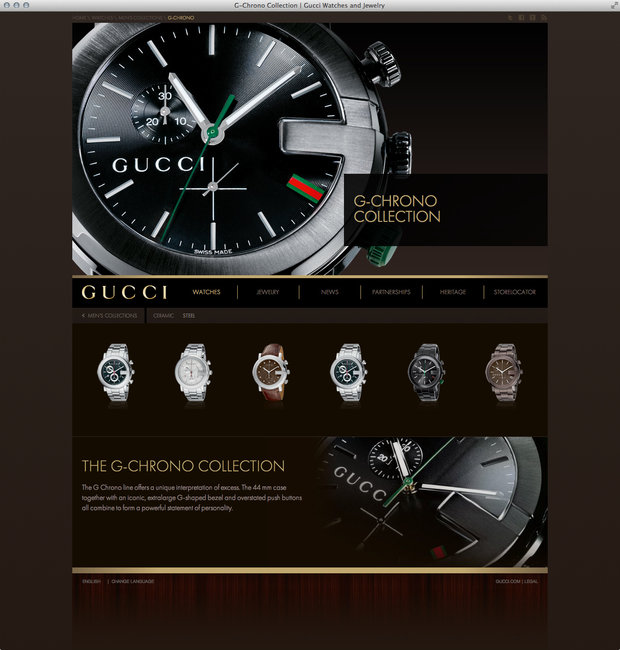 G-Chrono, Guccitimeless.com