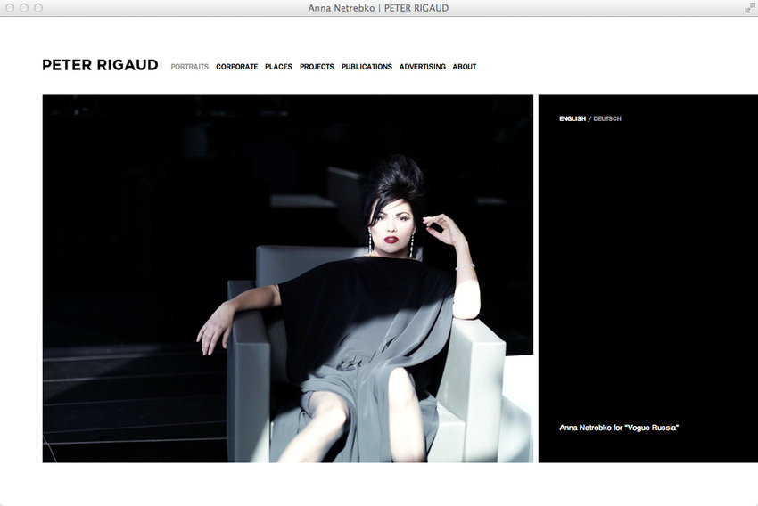 Simple layout, striking images: punch meets elegance