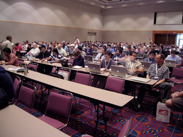 Railsconf crowd