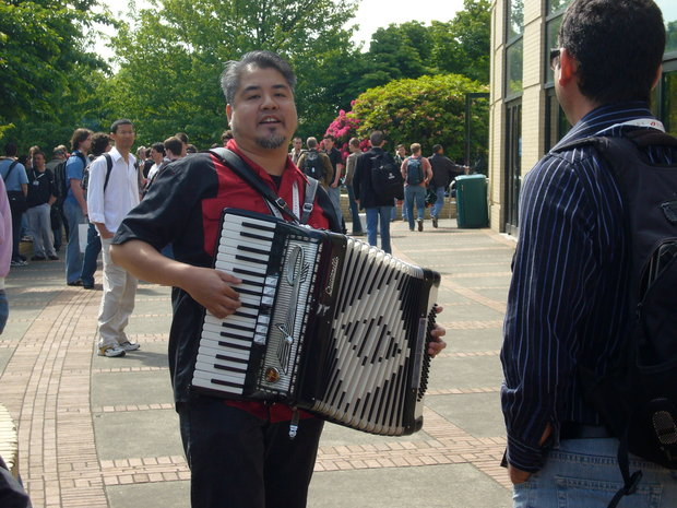 The Accordion Guy