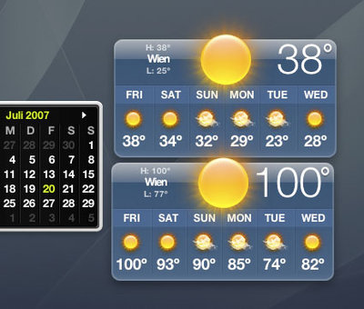 Weather in Vienna, 38°C, 100°F
