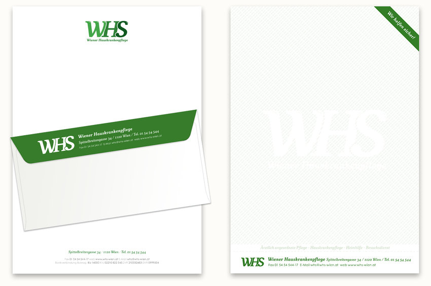 Letterhead and envelopes feel energetic and modern