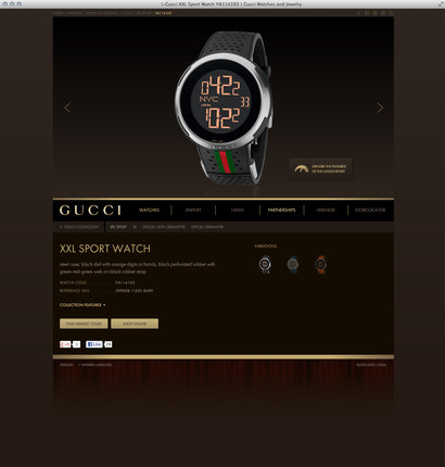 Have to have it? Buy online from GucciTimeless.com
