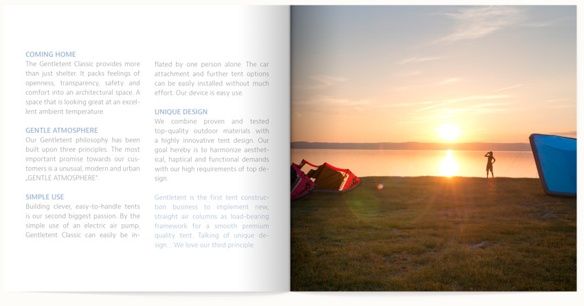 the highly structured layout encourage careful reading
